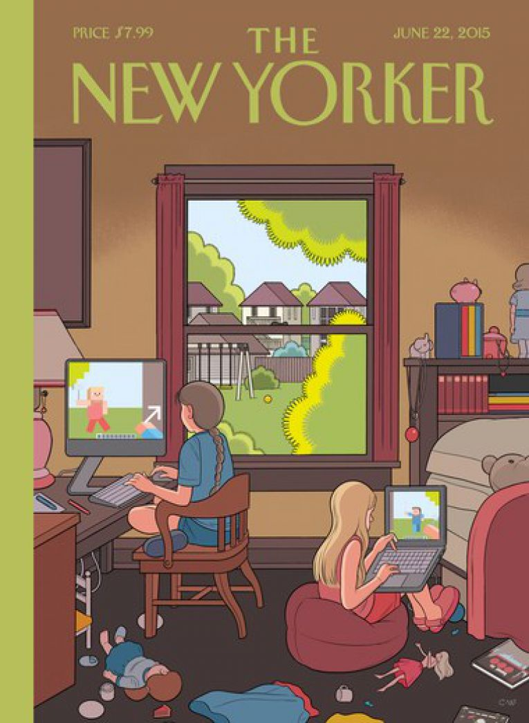 The New Yorker 22/06/2015 cover